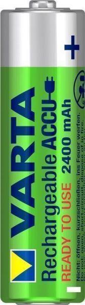 2 AA-Akku, 2400mAh Varta, 1,2V für Spielzeug